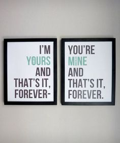 Personalized Ballad of Love & Hate Print - Set of 2