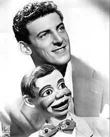 Paul Winchell (1922-2005), American ventriloquist, voice actor, comedian and inventor, whose career flourished on TV in the 1950s/1960s. He was the voice of Tigger in the Winnie-the-Pooh movies.