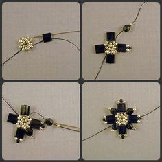Tila Bead Tutorial - Burst Earrings. $3.00, via Etsy.