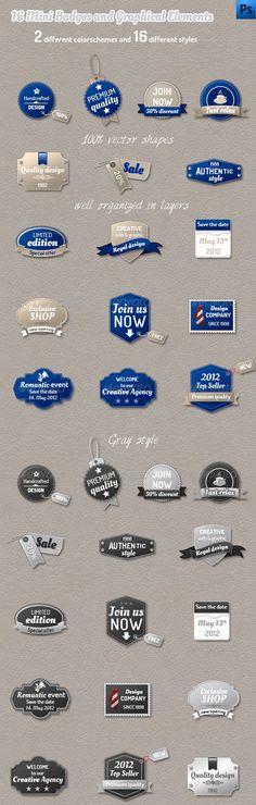 Mini Badges and Web Elements