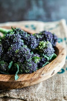 In season - April, purple sprouting broccoli