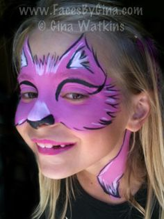 DIY Fox Face Paint #DIY #Halloween #HalloweenCostumes #Costumes #Foxes #FacePainting #Birthdays #Birthday #Parties #Party