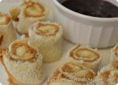 (could make with SunButter for allergy friendliness) Peanut Butter and Jelly 'Sushi Rolls' jelly rolls, sushi rolls, peanut butter