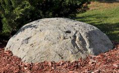 Fake Fiberglass Rock - to cover escape hatch for shelter