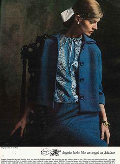 Angela Howard, September Vogue 1964