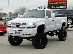 Chevrolet Silverado classic USA made truck nicely lifted
