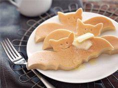 Bat pancakes.