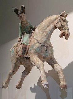 Chinese Horse Sculptures