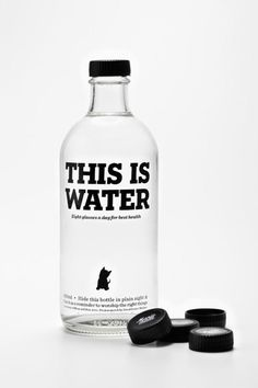 This is water.  Cute IMPDO.