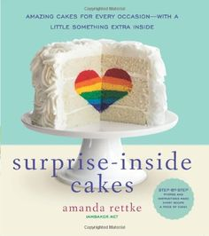 Surprise-Inside Cakes: Amazing Cakes for Every Occasion--with a Little Something Extra Inside: Amanda Rettke. Amazing cake creations in this book!
