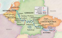Rhine, Main & Danube River Cruises – The Great Rivers of Europe 2010