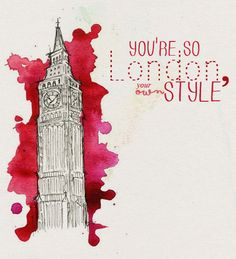 you're so london, you're own style