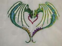 embroidered dragon - Google Search