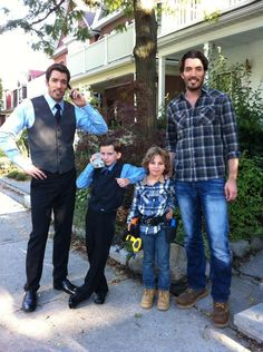 We had a blast filming more comedic webisodes. Meet the young Drew & @MrSilverScott