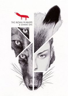 The Indian Runners by Chamo San on Behance #Pinterest #Design