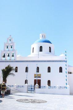 Greek Orthodox Churches in Santorini, Greece