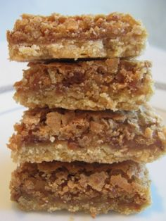 Coconut Toffee Chew Bars