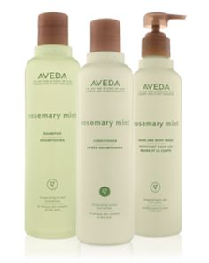 Aveda Rosemary Mint Products are the best... the smell and tingle are to die for ;)