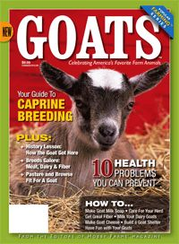 Goats magabook. In-depth information for hobby and urban farmers.