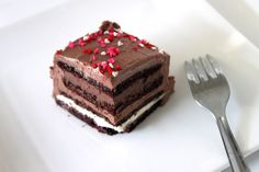 The Sweet Art: My Special Occasion Chocolate Mousse Cake - for michael