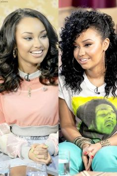 Leigh-Anne on This Morning 2012-2013