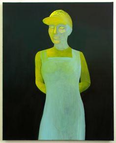 "Saatchi Online Artist: Simon Rosenthal; Oil, Painting ""Figure"""