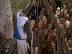 """Monty Python and the Holy Grail - She's a witch! """"She turned me into a newt! A newt?...I got better..."""""""