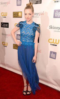 Amanda Seyfried on the Critics' Choice Awards Red Carpet!