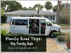 Family Road Trips :: Big Family Style {Plus a Travel Secret!} | Forever, For Always, No Matter What
