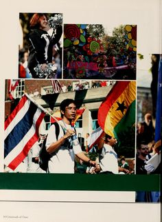 """Athena yearbook, 2004. """"Homecoming: Bobcat Victory Marks Bicentennial Homecoming."""" ::Ohio University Archives"""