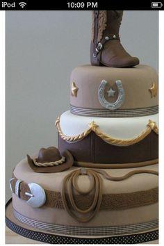 Cow boy cake!