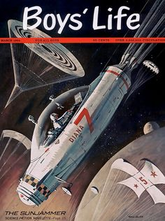 ... boy scouts in space!!