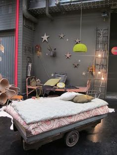 bed, children's room decor + furniture, Parisian shop Serendipity