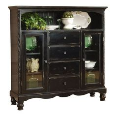 I pinned this Wilshire Baker's Cabinet from the Wonderfully Weathered event at Joss and Main!