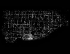 Every traffic signal in Toronto. (1600×1237)