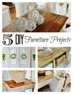 5 DIY Furniture Proj