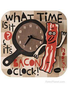 Bacon Time Clock