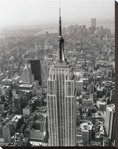 Empire State Building 19 x 24.5 or 11 x 14