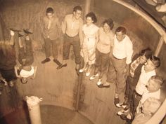 Worlds of Fun...Floor dropped out and you were left hanging and spinning...was it the Finish Fling?