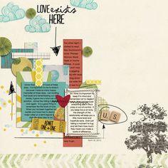 scrapbooks, arrow, inspir, scrapbook layout, scrapbook pages