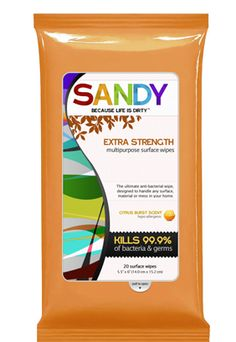 Free Sample of Sandy Disinfecting Wipes
