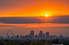 St Louis Solar Eclipse