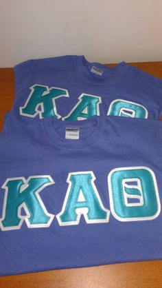 $18 greek lettered shirts!