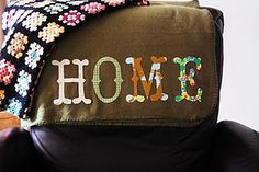 fabric letters, lap throw, gift ideas, blanket stitch, craft idea, fleec throw, fleece blankets, holiday gifts, christmas gifts