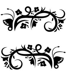 . luonnokset, craft, blackwhit, file, plantilla, lámina, cameo, printabl, cricut