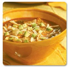 Vegetarian Tortilla Soup - Heart Healthy Recipe -