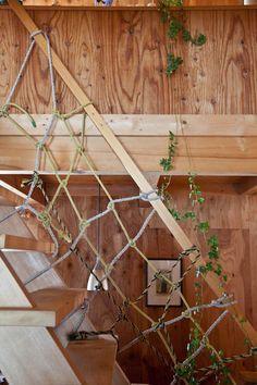 nautical knots at the handrail.