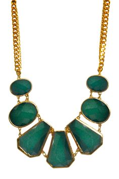 Emerald Egyptian Necklace