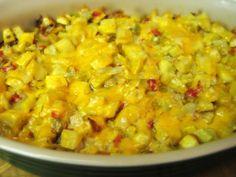 Yellow Squash Casserole | Buttoni's Low Carb Recipes