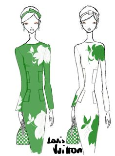 Louis Vuitton SS 2013 sketches